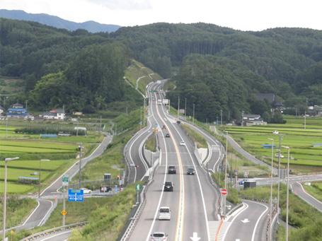 中部横断自動車道の写真