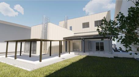3Dデジタル生産技術実装化研究拠点のイメージ図